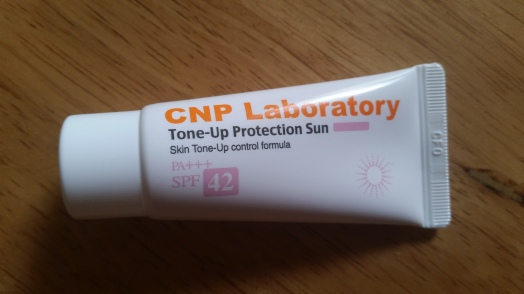 CNP Cosmetics Tone-Up Protection Sun, memebox